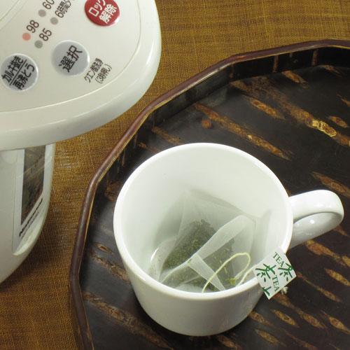 粉末タイプのべにふうき茶